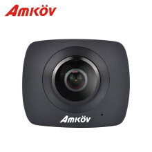 AMKOV AMK200S Panorama Dual Lens WiFi Action Sport Camera 960P LCD Screen TF Card Slot