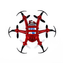 BESSKY JJRC H20 Mini RC Quadcopter 2.4G 4Ch 6-Axis Gyro Nano Hexacopter Drone CF RTF -Red