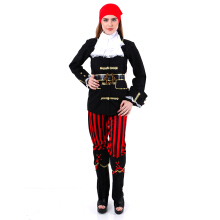 HOUSE OF COSTUMES Pretty Ms Pirate W-0210 - Black