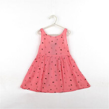 BESSKY Baby Kid Girls Sleeveless One Piece Dress Print Bowknot Tutu Dress Summer_