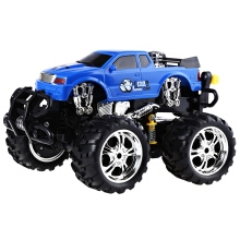 Huanqi 629 40MHz 1:16 Scale Remote Control Music Car Radio Racing Vehicle EU PLUG(Blue)