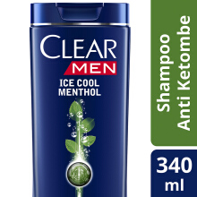 CLEAR Men Shampoo Ice Cool Menthol 340ml