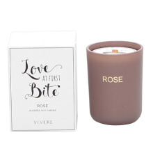 VIVERE Votive Candle Love Bite - 9x9x12Cm