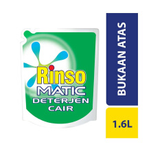 RINSO Matic Top Load Liquid Pouch 1.6 L