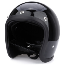 Motorcycle Safety Safe Retro Open Face Detachable Helmet