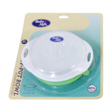 BABY SAFE Stay Put Bowl - Green