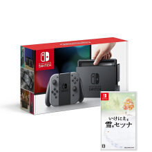 NINTENDO Switch With Grey Joy-Con + Free Game I am Setsuna