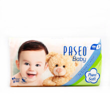 PASEO Tissue Puresoft Facial Softpack 130'S