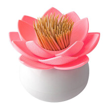 QUALY Lotus Toothpick Holder - Pink/QL10156WHPK