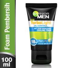 GARNIER Men Turbolight Oil Control Cooling Foam 100ml