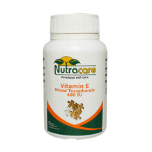 NUTRACARE Vit E Mixed Tocopherols 400 30 caps