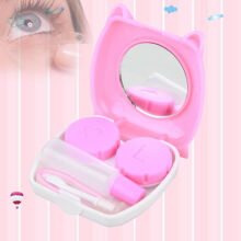 Cute Pig Design Contact Lens Case Mirror Case Storage Container Box