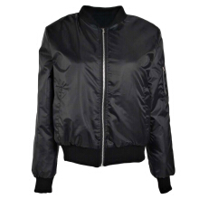 ZANZEA Women Zipper Pocket Sport Jacket - Black