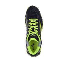 MIZUNO WAVE TORNADO X - BLACK / SAFETY YELLOW / DARK SHADOW