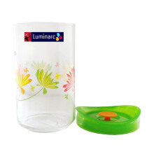 LUMINARC Keep And Pot Crazy Flower G7748  - Green White