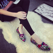BESSKY Women Casual Multicolor All Seasons Ballet Slip On Flats Loafers Shoes _