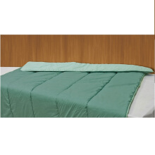 ELEGANCE Blanket Set Tosca & Light Green / 160 x210