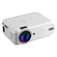 Excelvan Portable Mini LED Multimedia Projector 800*480 Support 1080p ATV For Home Cinema Theater With VGA HDMI USB SD AV  ATV Interfaces