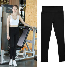 Womens Sport Yoga Running Pants Gym Clothes High Waist Trousers Leggings