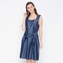 A&D Ladies Dress Denim Ms 965 - Blue