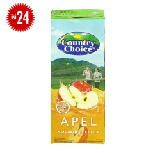 COUNTRY CHOICE Apple Carton 250ml x 24pcs