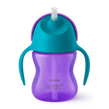 AVENT Straw Cup 7oz Single Girl SCF796/00 (PROMO)