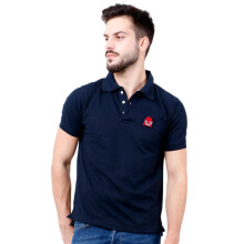 MONSTURO Navy Polo for Men + Patch