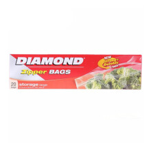 DIAMOND Zipper Storage Bags Large 20bags
