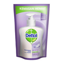 DETTOL Hand Wash Sensitive 200 ml Pouch
