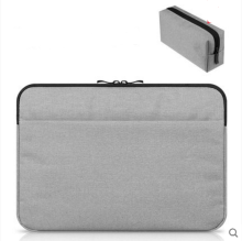 JDS S-10505 handbag(with one more battery bag) for laptop macbook ipad 15inch light grey color