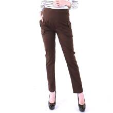 EVE MATERNITY Pregnant Pants Brown CP017B