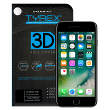 TYREX 3D Full Cover Tempered Glass for iPhone 7 - Black
