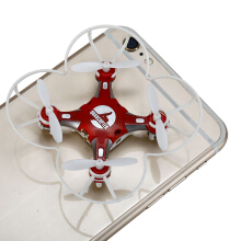 SBEGO - 124 2.4G 4CH 6-Axis Gyro RTF Pocket Quadcopter Aircraft Toy-Red