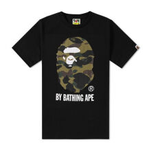 A BATHING APE 1st Camo By Bathing Tee - Black