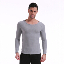 INCERUN Men Fashion Muscle Pullover Slim Fit T-Shirt