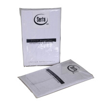 SERTA Accessories Bolster Protector 37x100 - White