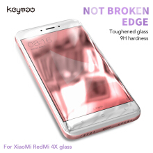 Keymao Xiaomi RedMi 4X Tempered Glass Screen Protector 2.5D 9H Hard
