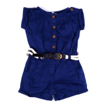 KIDDIEWEAR Jumpsuit Navy with Belt 1RN7403