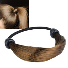 Women Straight/Braid Wig Elastic Hair Band Rope Scrunchie Ponytail Holder