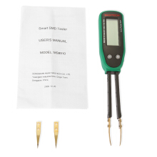 MASTECH MS8910 Professional Digital SMD Tester Support Auto / Manual Ranging 3000 Counts
