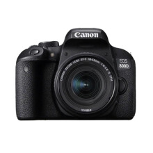 Canon EOS 800D Kit 18-55mm IS STM Kamera DSLR Black