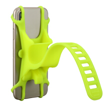 Luminous Reinforcement Silicone Adjustable Bicycle Phone Holder