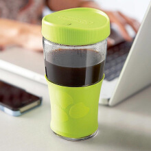 #LUMINARC Transportable Jar + Lid J9991 500ML - Green