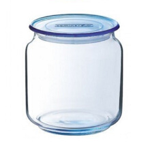 LUMINARC Toples Rondo Ice Blue Jar J1848 / J0105 500ML  - Blue