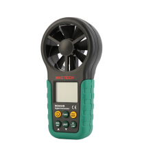 MS6252B Digital Anemometer Air Volume Ambient Temperature Humidity USB