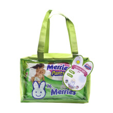 MERRIES Popok Pants Good Skin S 26 - Gift Pack Small Gratis Pouch