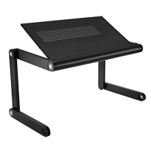 OMAX K6 Adjustable Height Laptop Desk Notebook Table with Vented Stand