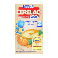NESTLE Cerelac Wortel & Bayam Box - 120gr
