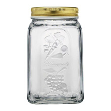 PASABAHCE Homemade Jar W/ Metal Lid 1,0 Ltr - 80385