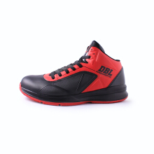 ARDILES Men Fundamental Basket Shoes - Black Red